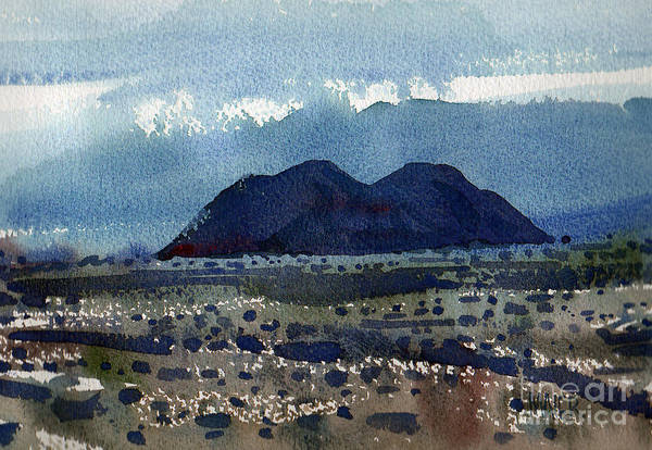 Death Valley Painting - Cinder Cone Death Valley by Donald Maier