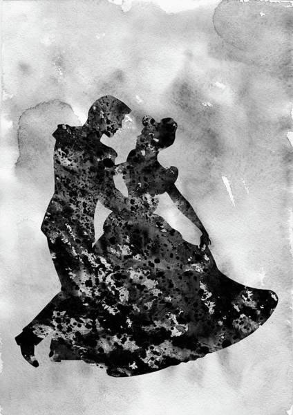 Prince Charming Wall Art - Digital Art - Cinderella-black  by Erzebet S