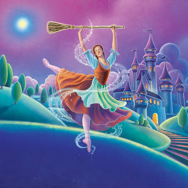 Painting - Cinderella by Anne Wertheim