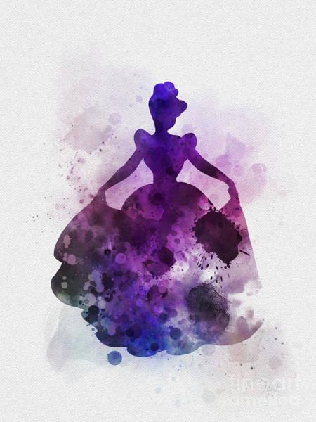 Wall Art - Mixed Media - Cinderella by My Inspiration