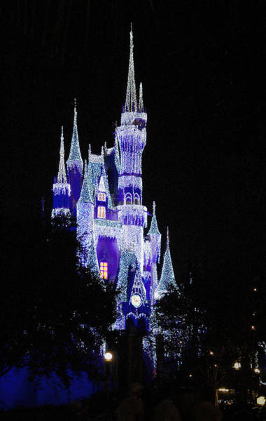Photograph - Cinderella's Castle 2 by Frank Mari