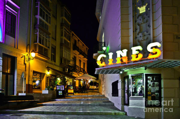 Photograph - Cine Albeniz - Malaga - Spain by Carlos Alkmin