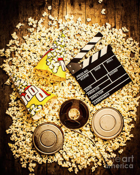 Delicious Wall Art - Photograph - Cinema Of Entertainment by Jorgo Photography - Wall Art Gallery