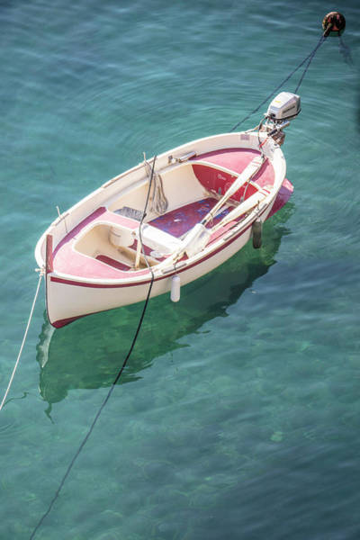 Photograph - Cinque Terre Boat  by John McGraw
