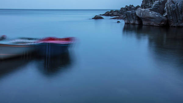 Photograph - Cinque Terre Boats In Motion  by John McGraw