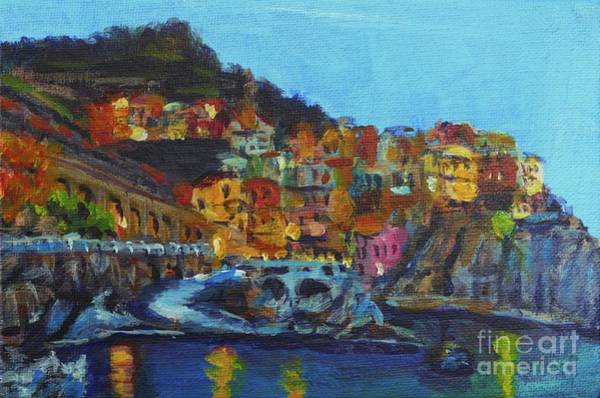 Painting - Cinque Terre by Laura Toth