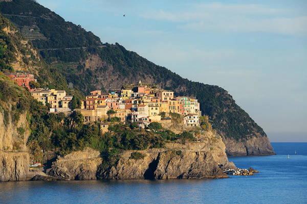 Photograph - Cinque Terre Manarola by Songquan Deng