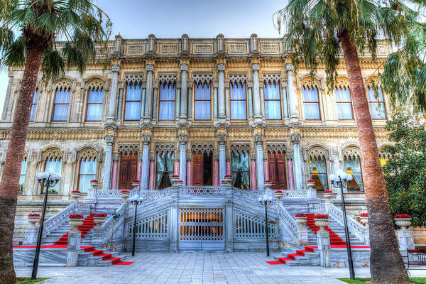 Wall Art - Photograph - Ciragan Palace Istanbul Turkey by David Pyattiragan Palace Istanbul