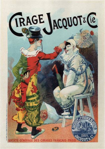 Wall Art - Mixed Media - Cirage Jacquot And Cie - Vintage French Advertising Poster by Studio Grafiikka