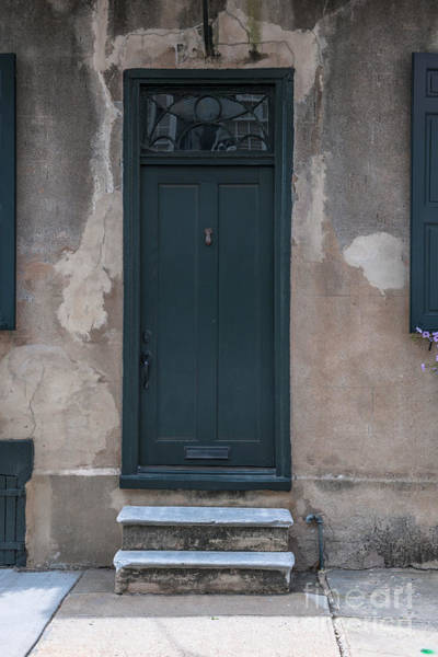 Photograph - Circa 1740 Door by Dale Powell