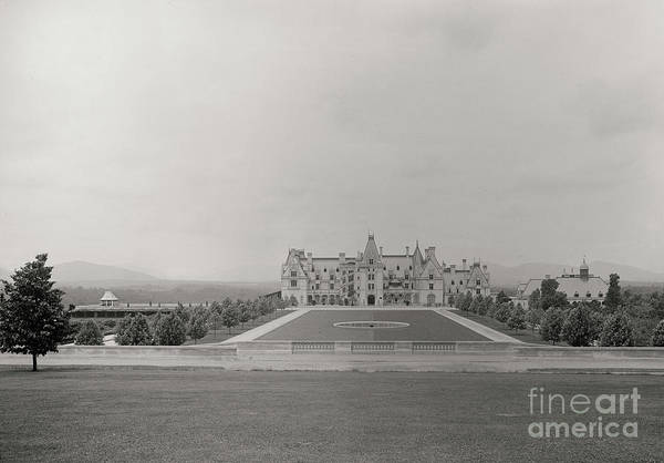 Photograph - Circa 1895 Biltmore Estate by Dale Powell