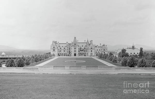 Photograph - Circa 1895 Biltmore Estate In Asheville North Carolina by Dale Powell