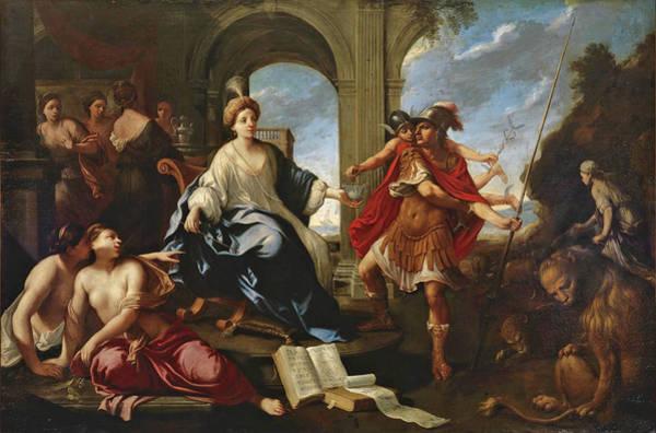 Odysseus Painting - Circe And Odysseus by Pier Francesco Cittadini