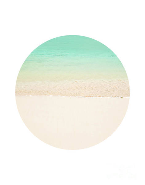 Wall Art - Photograph - Circle Beach by Delphimages Photo Creations