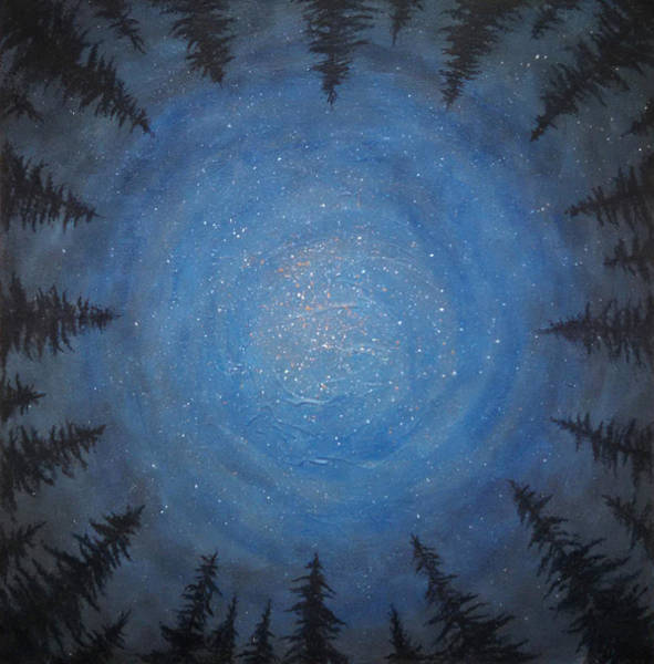 Painting - Circle Dance by Janelle Schneider