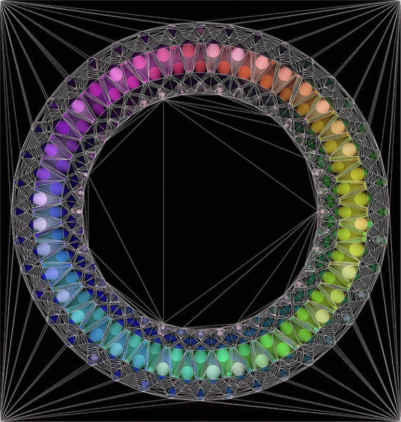 Digital Art - Circle Of Concinnity by Susan Maxwell Schmidt