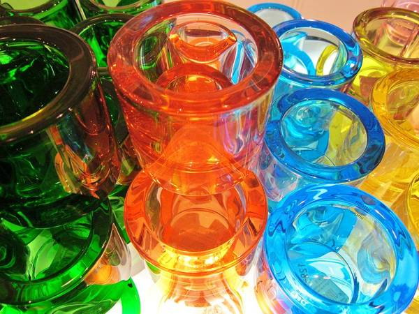 Photograph - Circle Of Glass by Rosita Larsson
