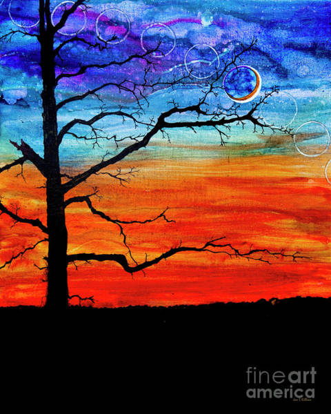 Painting - Circle Of The Moon by Jan Killian