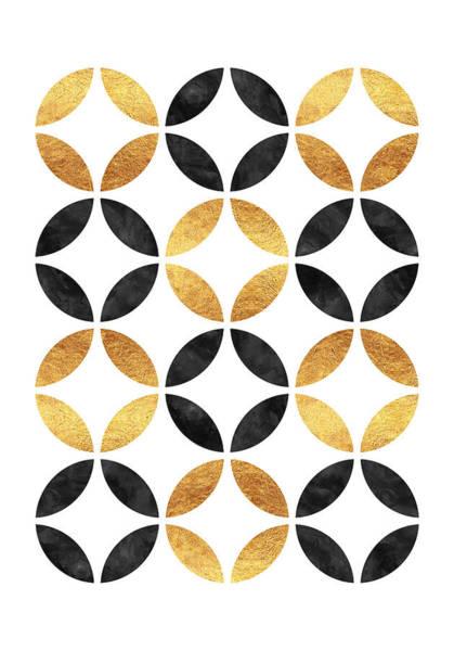 Wall Art - Digital Art - Circle Pattern by Raluca Mateescu
