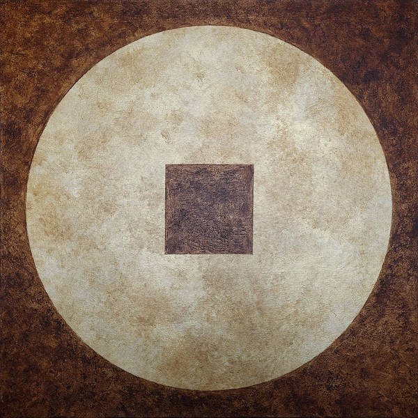 Wall Art - Painting - Circle Square by Julie Niemela