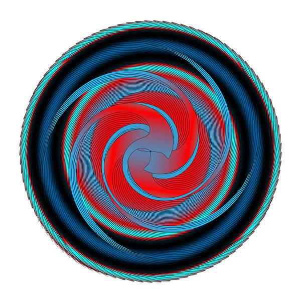 Digital Art - Circle Study No. 320 by Alan Bennington
