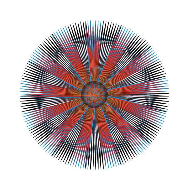 Digital Art - Circle Study No. 330 by Alan Bennington