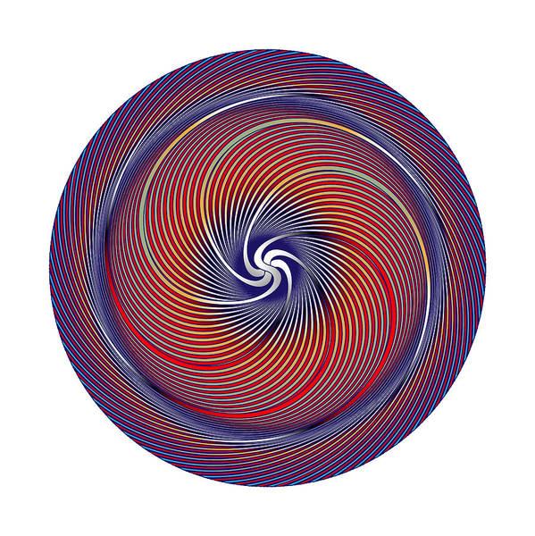 Digital Art - Circle Study No. 372 by Alan Bennington