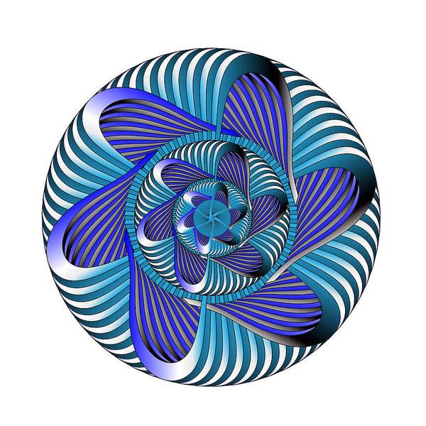 Digital Art - Circle Study No. 425 by Alan Bennington