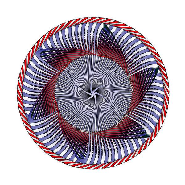 Digital Art - Circle Study No. 427 by Alan Bennington