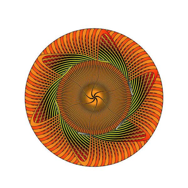Digital Art - Circle Study No. 429 by Alan Bennington