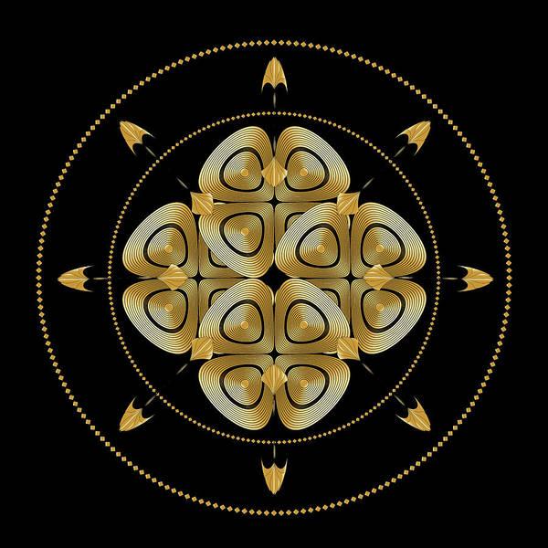 Digital Art - Circle Study No. 458 by Alan Bennington