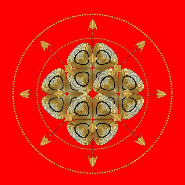 Digital Art - Circle Study No. 459 by Alan Bennington