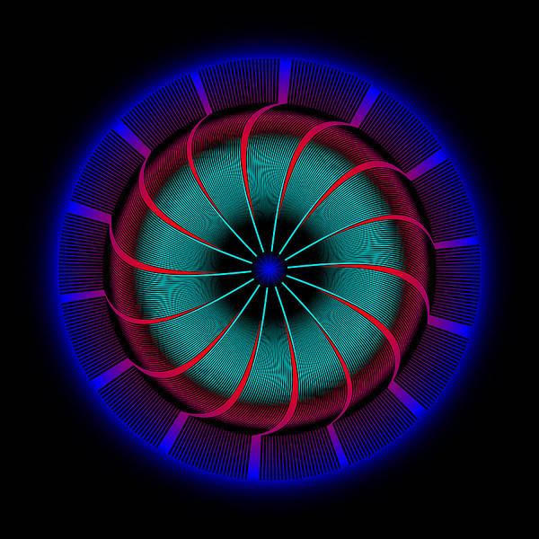 Digital Art - Circle Study No. 468 by Alan Bennington