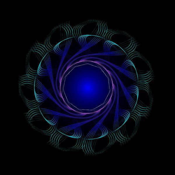 Digital Art - Circle Study No. 471 by Alan Bennington