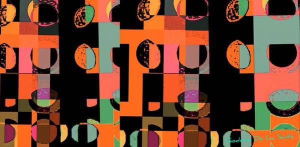 Painting - Circle Study Number 75 by Teodoro De La Santa