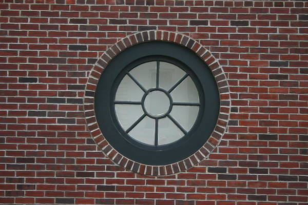 Wall Art - Photograph - Circle Window by Dennis Curry