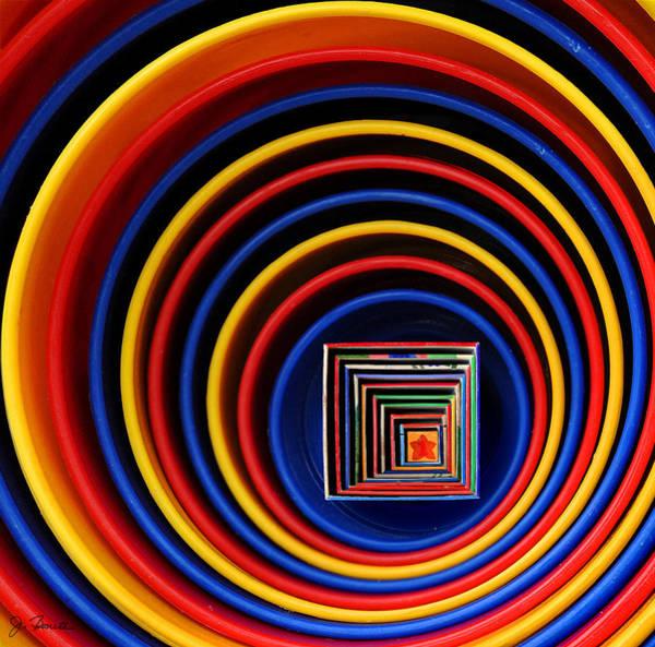 Wall Art - Photograph - Circles And Squares by Joe Bonita