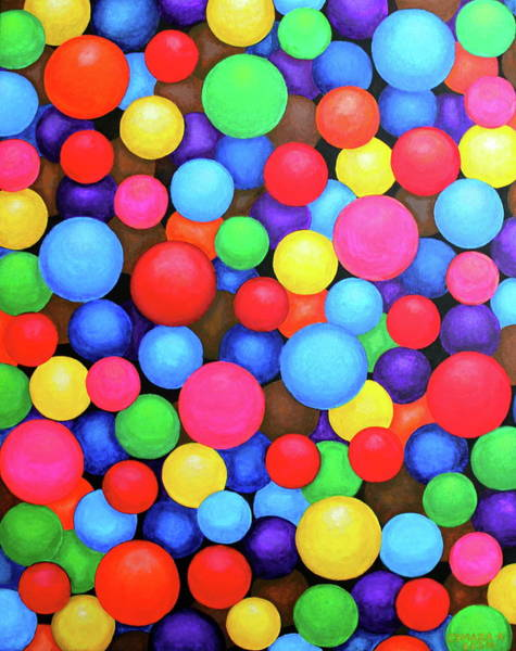 Painting - Circles by Lorna Maza