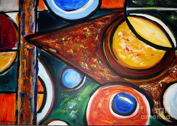 Painting - Circles Of  Life by Yael VanGruber