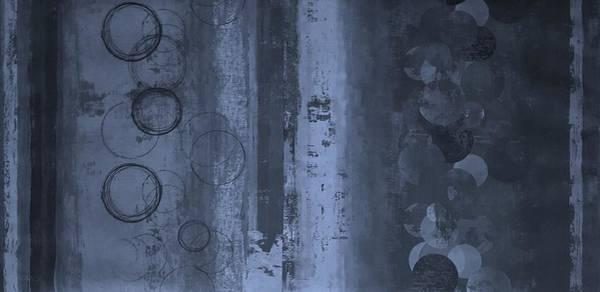 Photograph - Circlestripes Cyan by Rob Hans