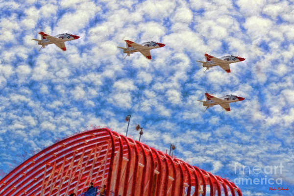 Photograph - Circuit Of The Americas Fly Over by Blake Richards