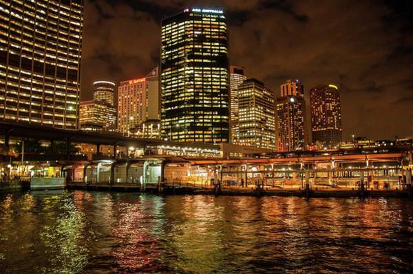 Photograph - Circular Quay And Sydney City Skyline by NaturesPix