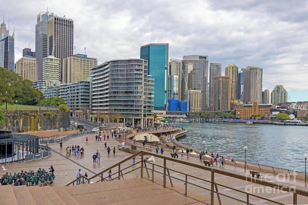Photograph - Circular Quay, Sydney, Australia by Elaine Teague
