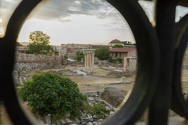 Wall Art - Photograph - Circular Window To The Past by Iordanis Pallikaras