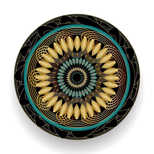 Digital Art - Circularity No 1564 by Alan Bennington