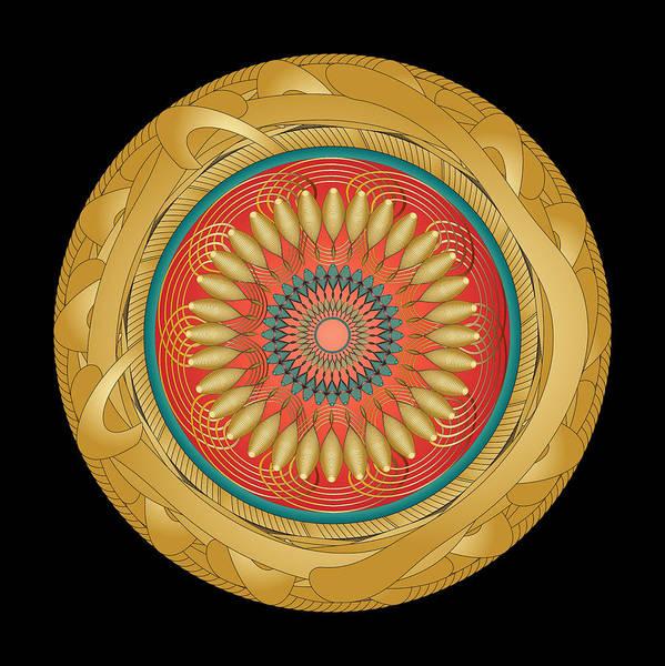 Digital Art - Circularity No 1566 by Alan Bennington