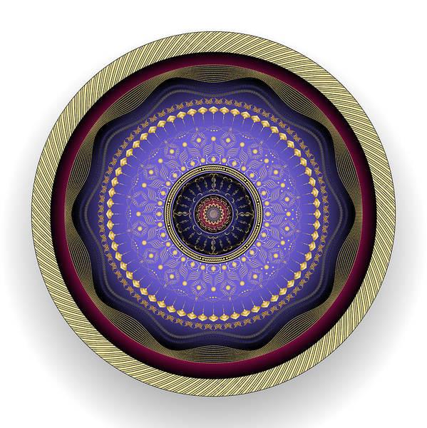 Digital Art - Circularity No 1567 by Alan Bennington
