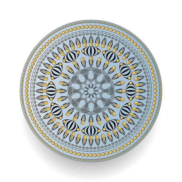 Digital Art - Circularity No 1610 by Alan Bennington