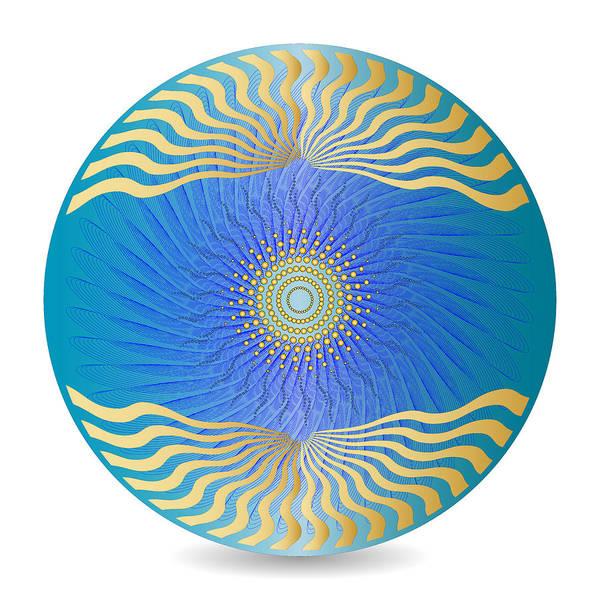 Digital Art - Circularity No 1629 by Alan Bennington