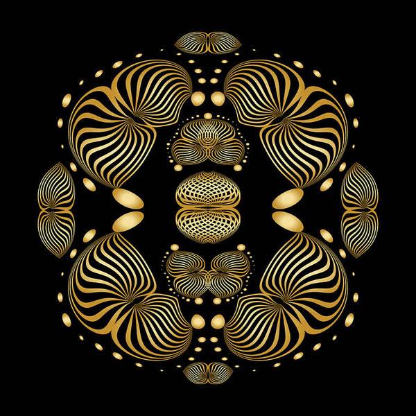 Digital Art - Circularity No 1635 by Alan Bennington